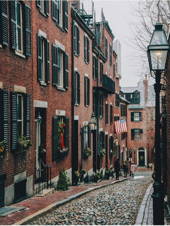 ... in Boston