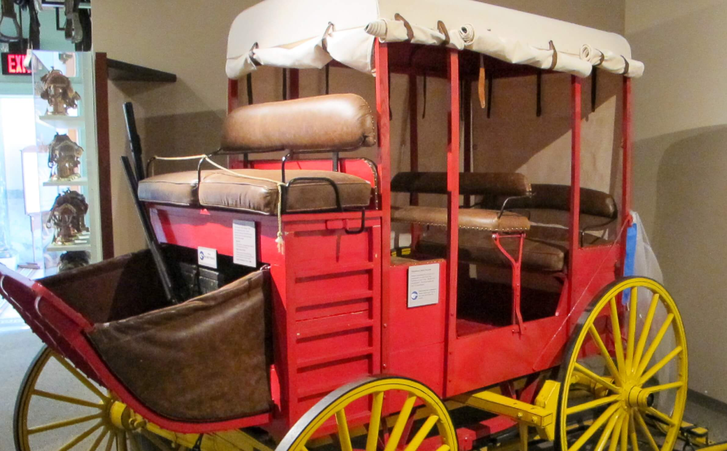 Stagecoach at San Mateo County History Museum