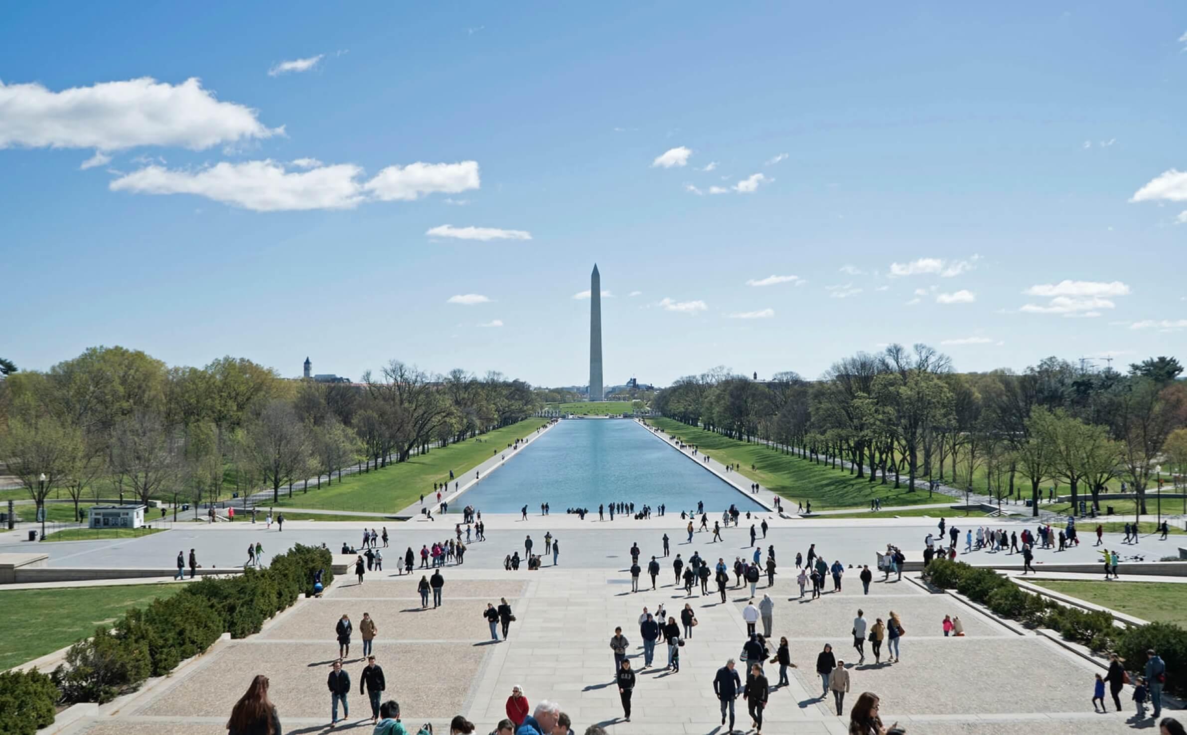 Washington Monument at the National Mall
