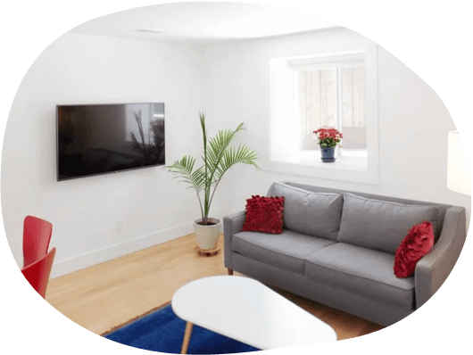 Furnished 2-bedroom apartments in Boston