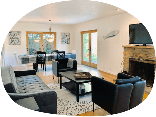 Furnished 3-bedroom apartments in Redwood City