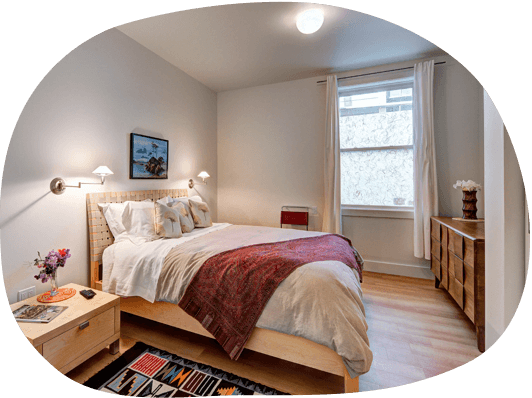 Furnished studio and 1-bedroom apartments in Boston