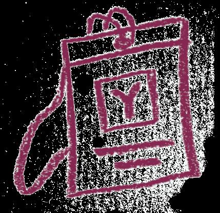 Y Combinator badge illustration